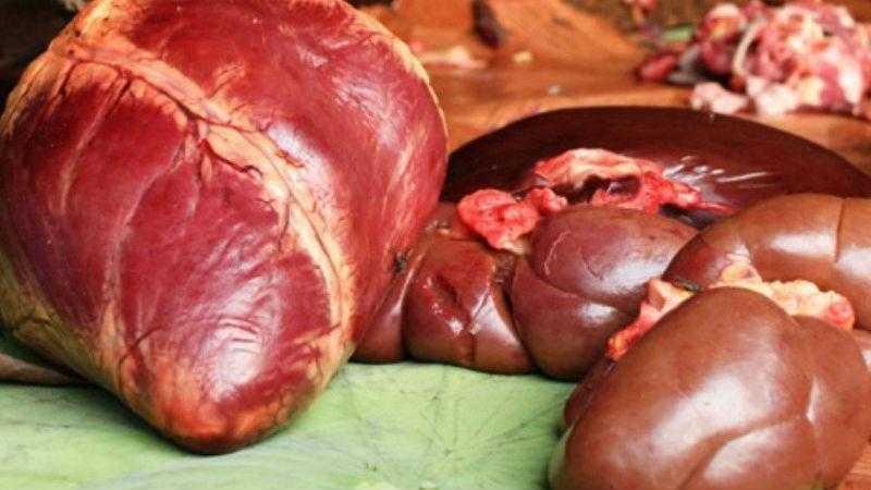 Мясные субпродукты в питании животных